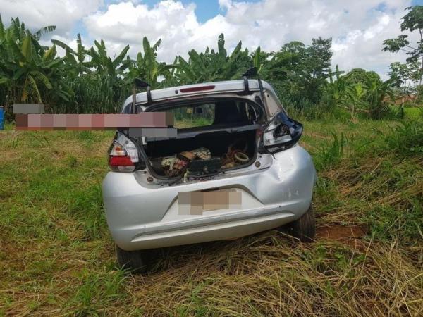 Grave acidente no interior de Rondônia